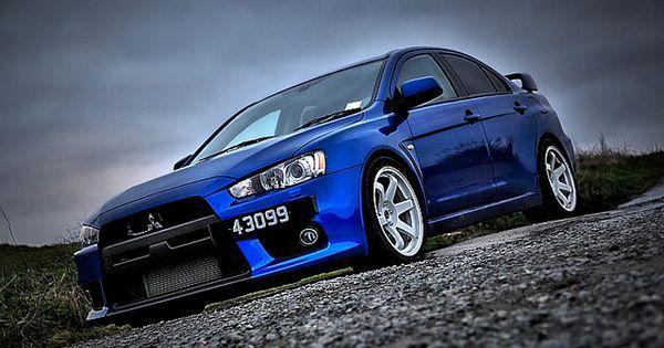 Mitsubishi automobile - Mitsubishi Lancer Evolution FQ 300 (HDR)