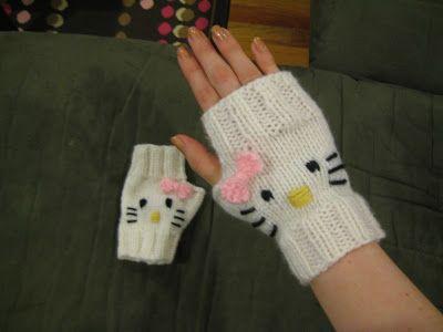 Hello kitty, Kitty and Knitting blogs on Pinterest