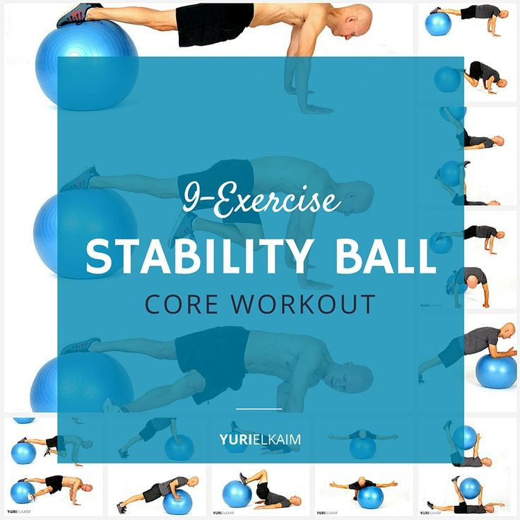 Stability Ball Core Exercises: 15 Must-see Biceps Curl Pins
