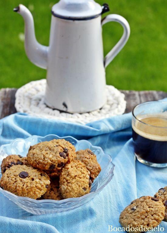 Bocadosdecielo: Galletas-cookies de calabaza (sin huevos, sin mantequilla)