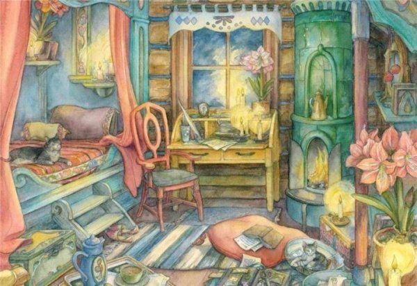 Sweet Studio – Paintings by Kim Jacobs