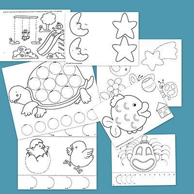 Grafomotricidad para niños de tres años