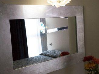 espejo en hoja de plata con marco zeus espejo con marco mobilspazio contract