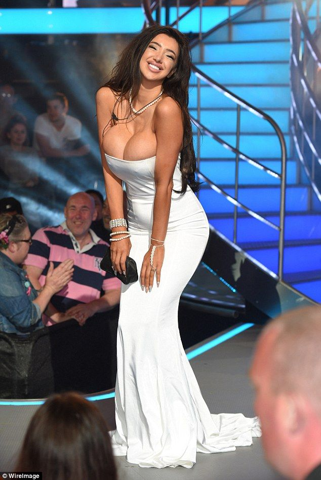 She's out: in a twist of fate, Chloe Khan became the third housemate to be evicted as she lost out to Marnie Simpson on the final round of Big Brother's Big Risk