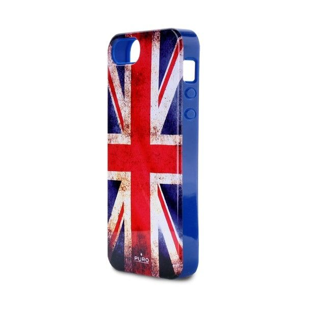 Puro Flag Cover UK voor Apple iPhone 5S / 5