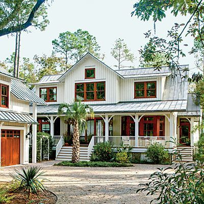 Modern Dogtrot Home Southern Cottage Palmetto Bluff And