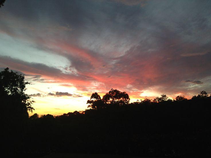 Sunset - Kalamunda, Western Australia.