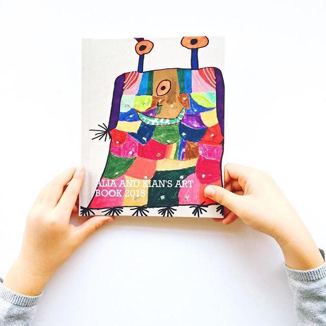 how to put kids artwork