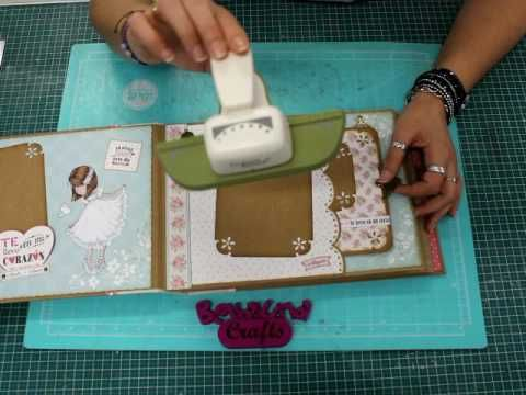 Album Mi Primera Comunion Bellaluna Crafts Video Presentacion - YouTube