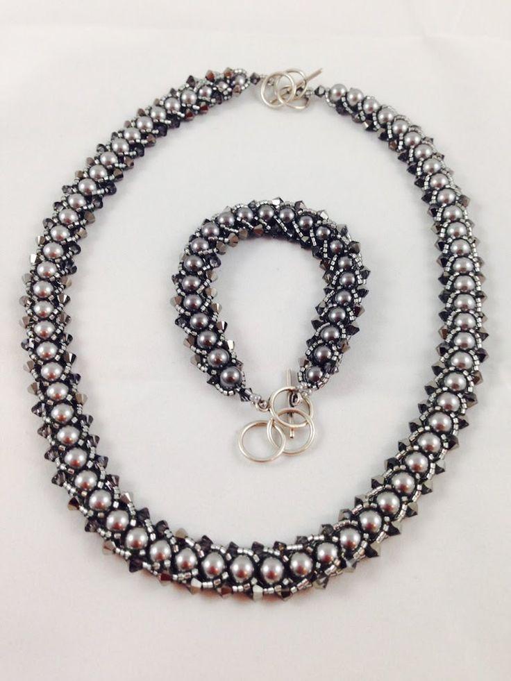 Flat Spiral Galaxy Bracelet