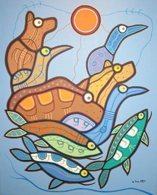 Long Lac Spirits by     Artist:Roy Thomas