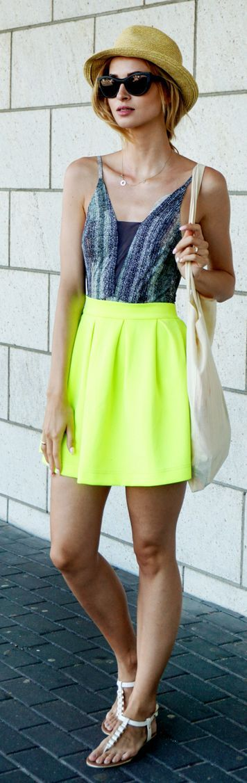 Best 25+ Yellow skirt outfits ideas on Pinterest | Fashion autumn 2015 Winter clothes 2015 and ...