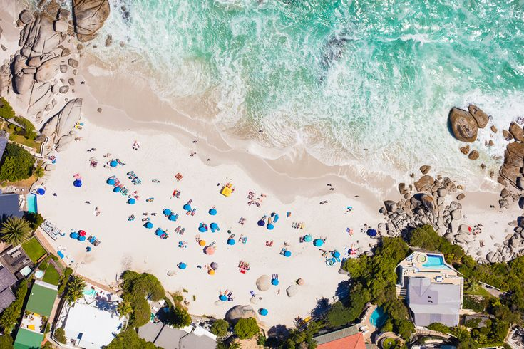 Gray Malin's Cape Town Travel Guide - Clifton Beach, Cape Town