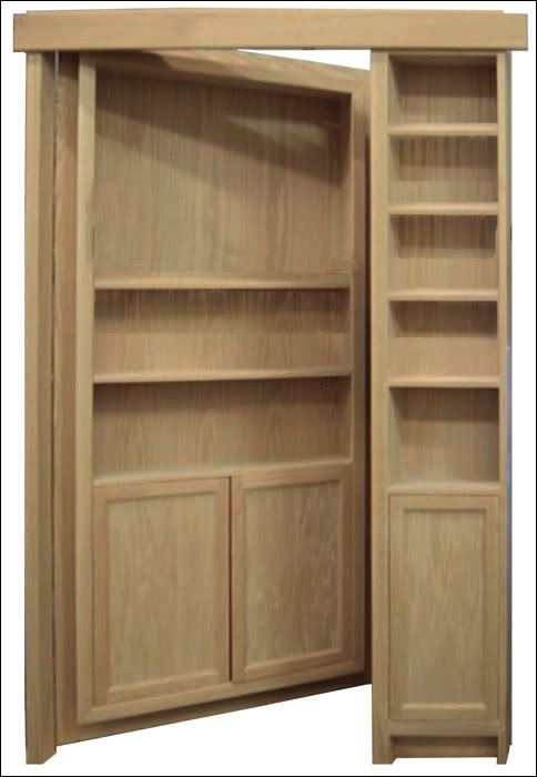 132 best images about hidden on pinterest hidden for Secret door ideas