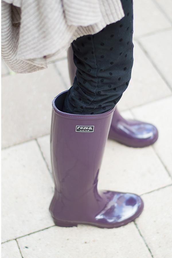 d314f9ac530f EMMA Classic Eggplant Women's Rain Boots | proste hezky | Boots ...