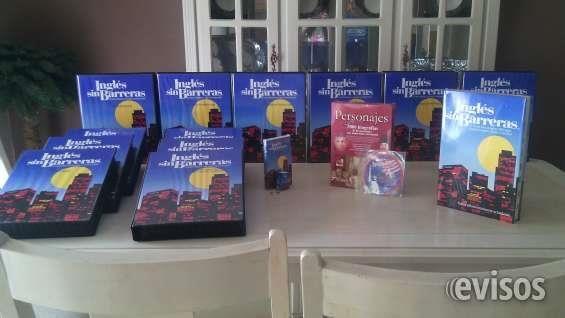 CURSO DE INGLES SIN BARRERAS  Curso de ingles sin barreras completo, nuevo, cuenta con CD, diccionario y libros de apoyo           ...  http://torreon-city.evisos.com.mx/curso-de-ingles-sin-barreras-id-617087