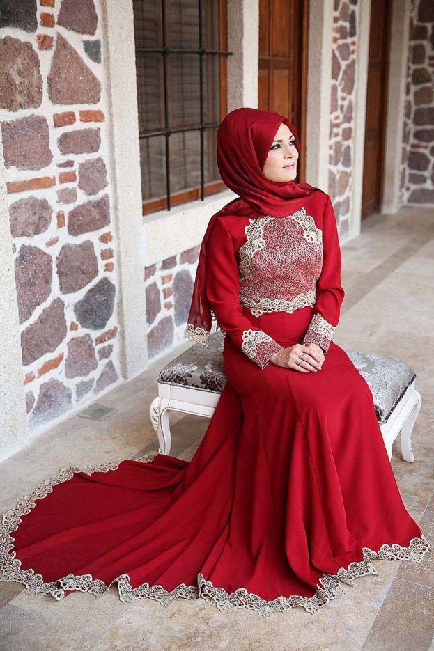 صور فساتين بنات محجبات جديدة عالم الصور Hijab Dress Party Dresses Muslim Dress