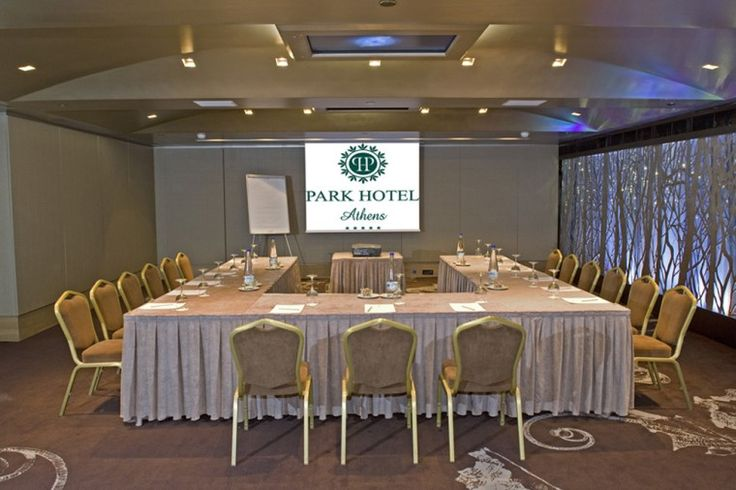 Choose the modern banquet room 'Silver Forest' for your conference or meeting requirements. http://www.rbathenspark.com