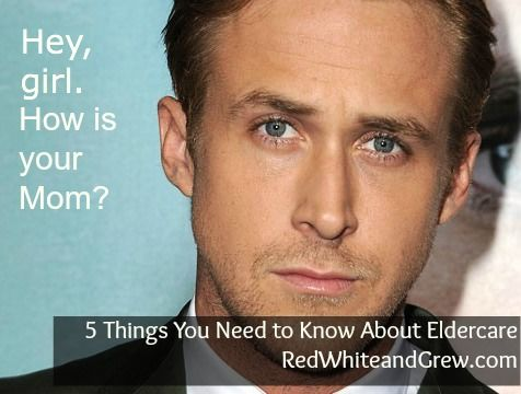 Eldercare Ryan Gosling has some advice for you. (P.S. The Ryan Gosling meme never gets old!)