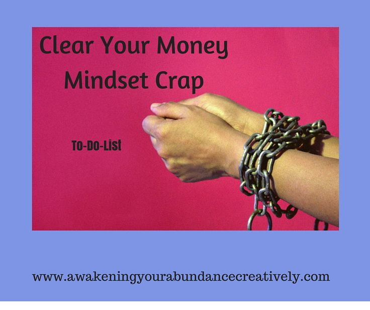 Sign up for my daily to list to clear your money blocks.