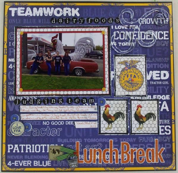 12 best FFA Scrapbook Ideas images on Pinterest ...