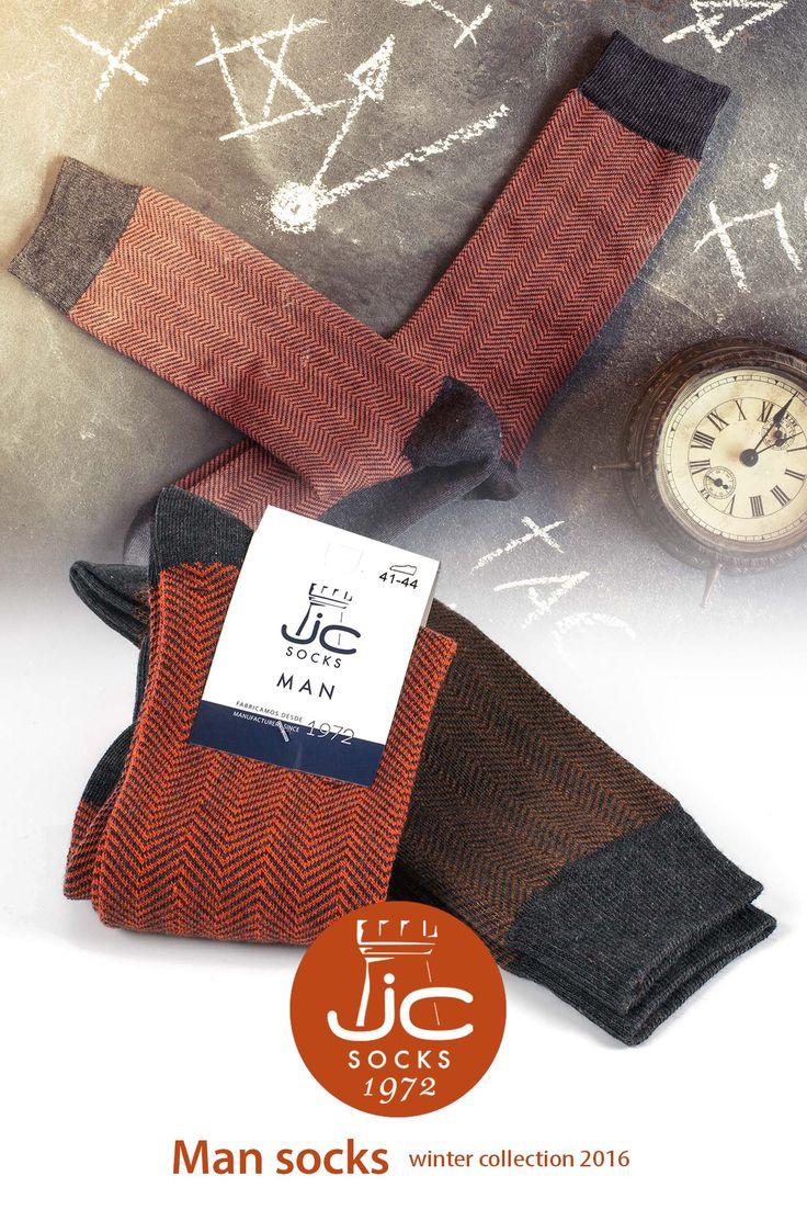 Calcetines Hombre Colección Invierno J.C Socks fabricantes desde 1972, calcetines que marcan la diferencia, calidad y diseño.