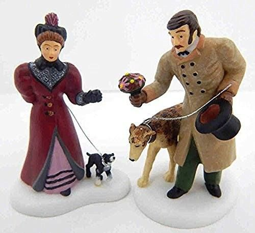 Department 56 - Dickens' Village Series - These Are For You (Set of 2) - Retired Porcelain Village Accessory - #56.58530 -