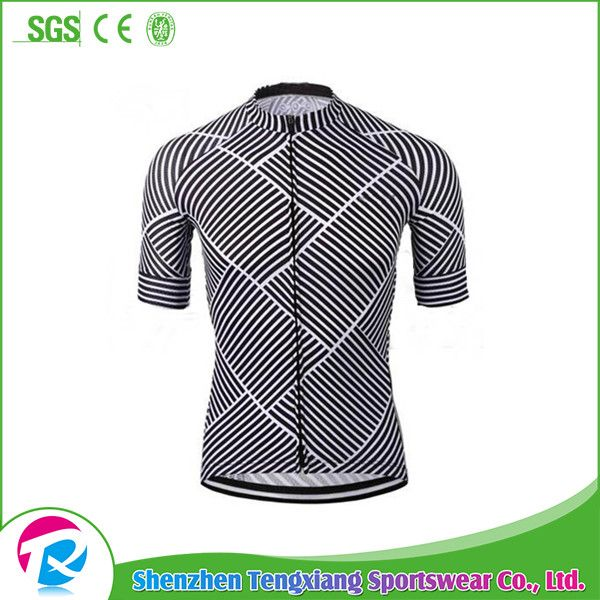 Professional Training style sublimation custom designed printed China cycling team jersey