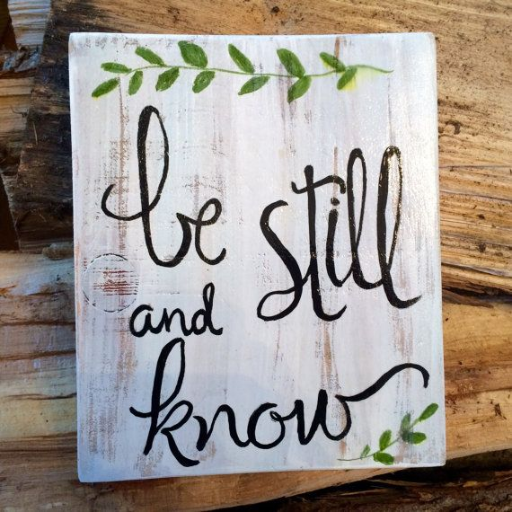 Inspirational message brings a sense of calm and by expressionshop