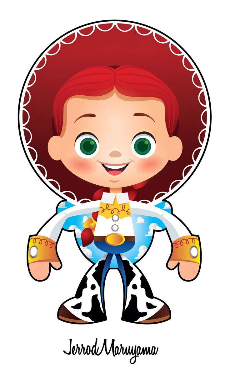 Cow girl on toy story