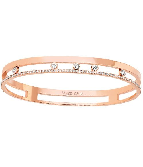 Bracelet Move de Messika en or rose et diamants