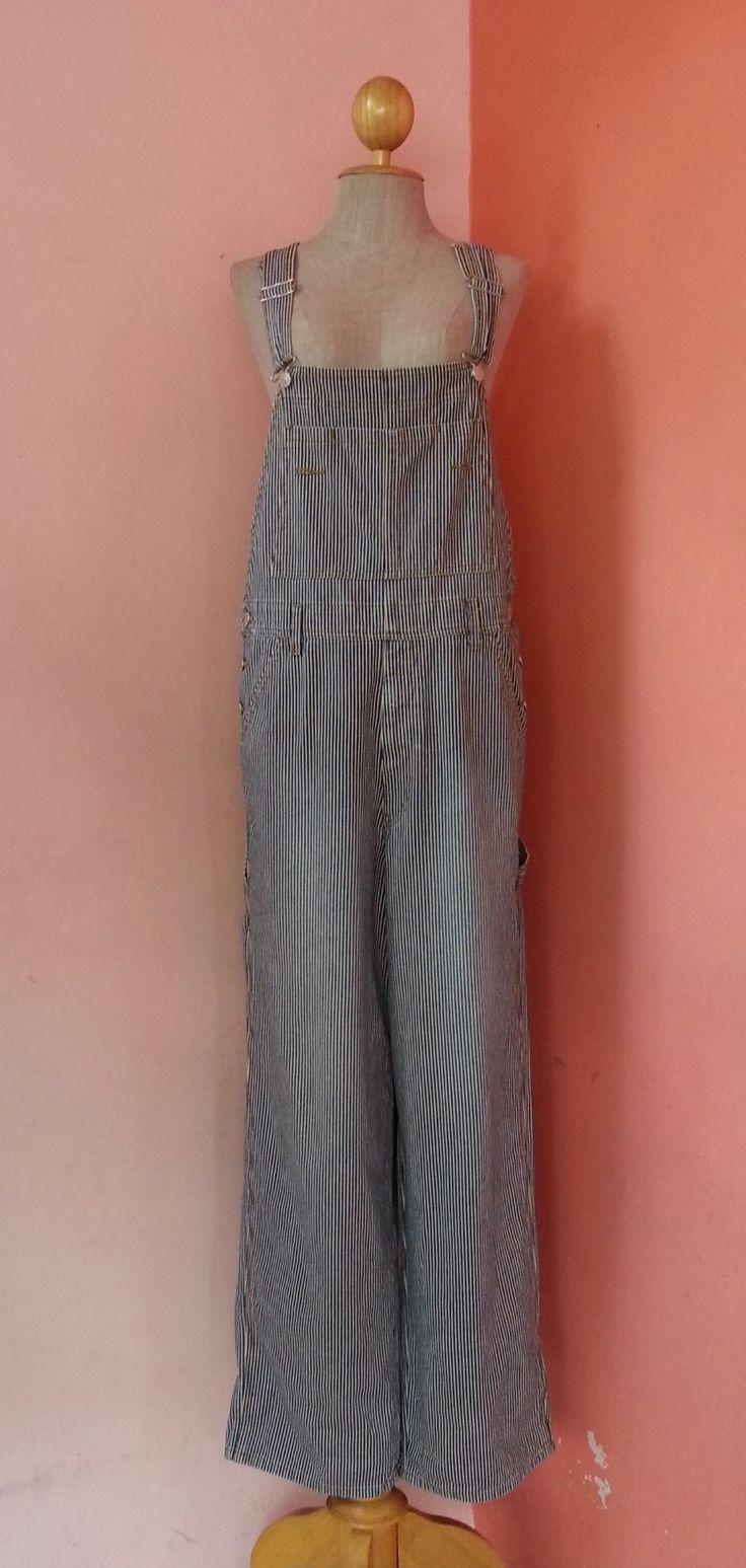 Bib Overalls Vintage Overalls Women Overalls Striped Overalls Denim Overalls Long Overalls