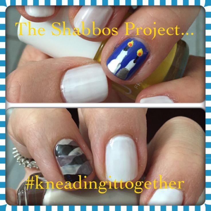 #shabbatprojectto #kneadingittogether #keepingittogether #nails #nailart #ideas #creative