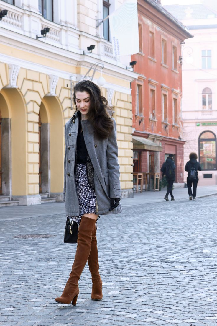 Fashion blogger Veronika Lipar of Brunette From Wall Street sharing what to wear to the office and to the date this Friday