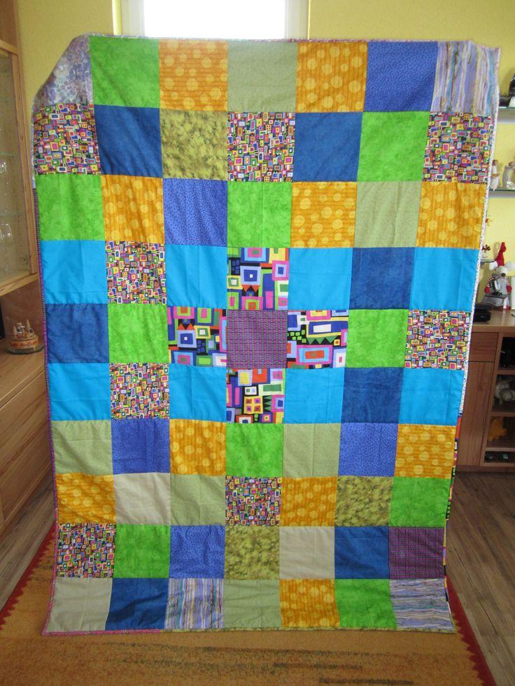 Decke 32 Quilts, Sos kinderdorf, Decke