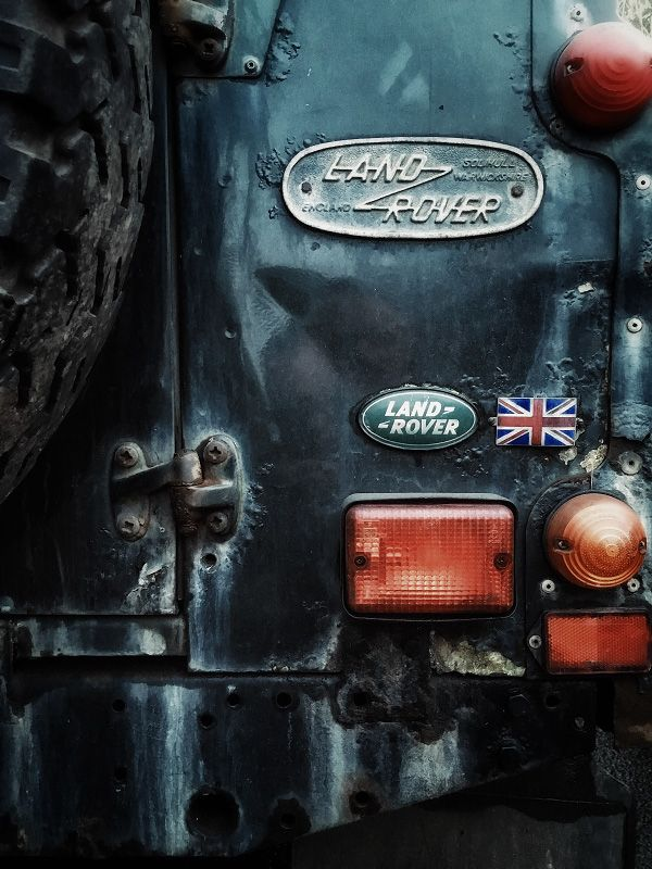 "juliancalverley: ""Detail of a Great British icon.. The Land Rover Defender 110…"