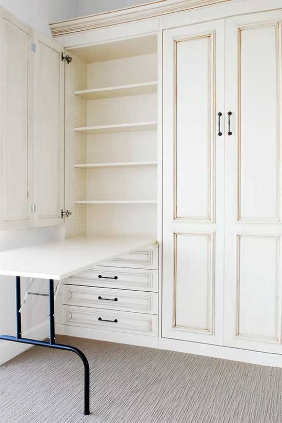 this would be great for a craft or laundry room, even a garage - link goes to Travel Food?