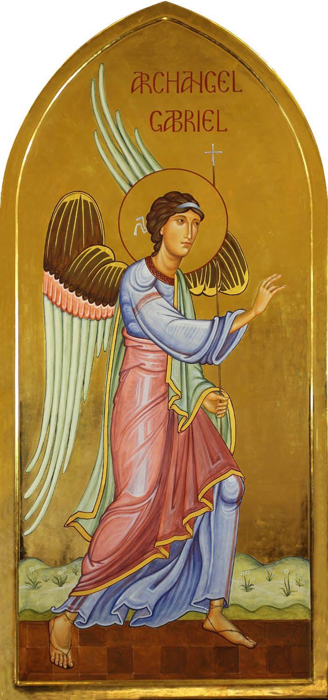 Archangel Gabriel - Aidan Hart Sacred Icons