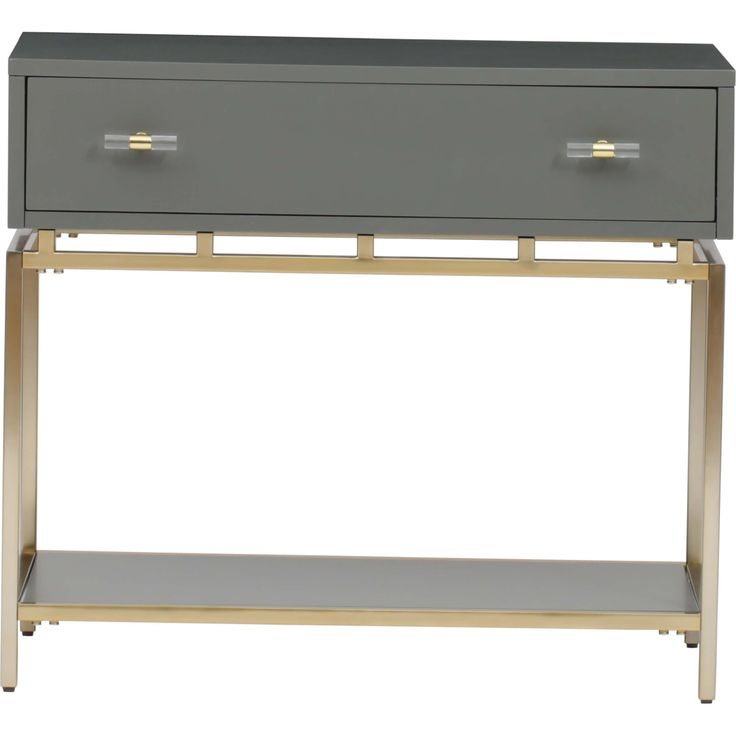 Happily Gray Nightstand - Nightstands - Bedroom - Furniture