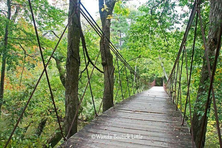 Mississippi swinging bridge