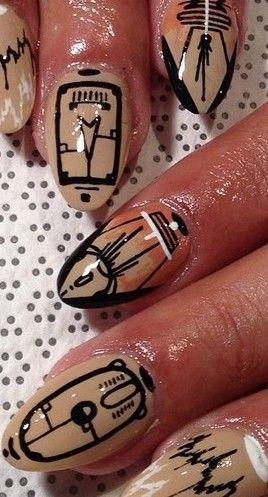 94 best african inspired nails images on pinterest africans nail art prinsesfo Images