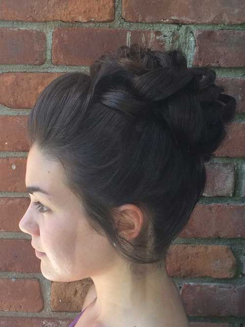 Amazing high buns that you want to try for hot summer days - Bun and Updo hairstyles - # bun #Bun #the # Amazing # for