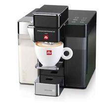 ILLY coffe machine cappuccino machine Y5 MILK BLACK + capsules gift