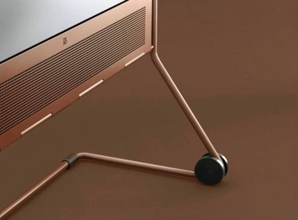 Bang & Olufsen BeoPlay V1 Havana LED TV with integrated movable stand