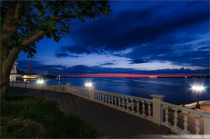 breathtaking#night#lights#sea#crimea