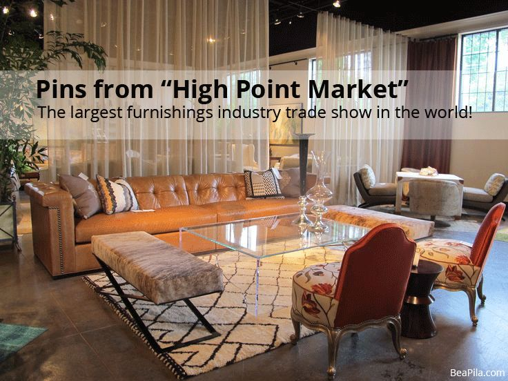 Check Out Some Of The Fabulous Pieces I Found At High Point Market, The  Largest