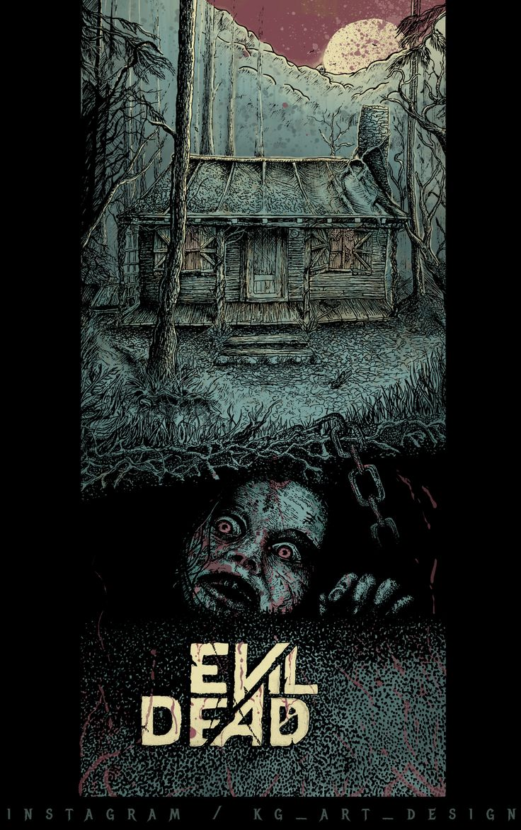 Drawing video: http://bit.ly/Evildeaddrawing