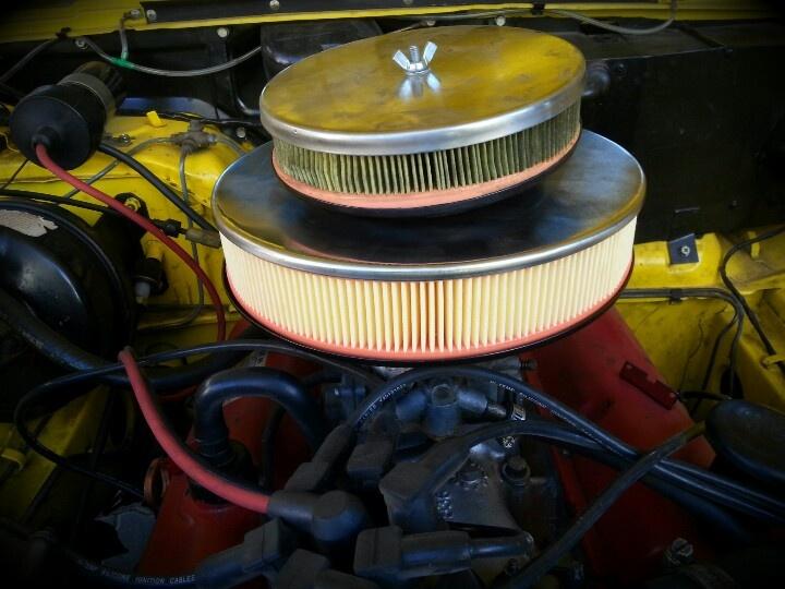 Air filter upgrade:-)