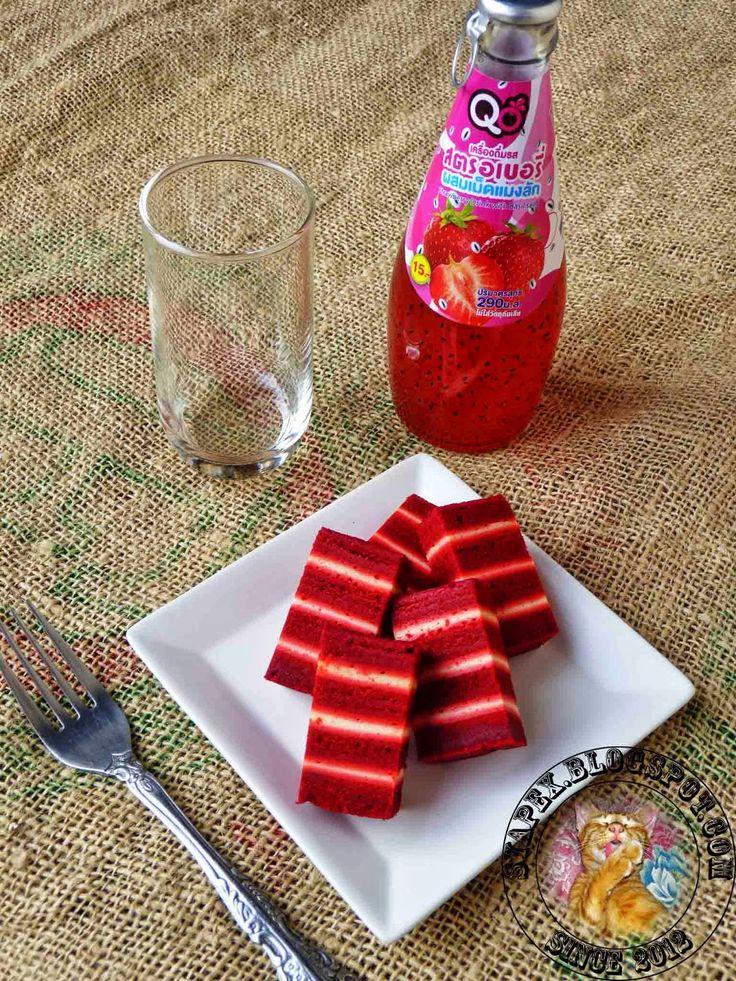 Kek Lapis Red Velvet