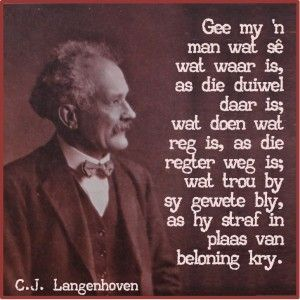 Langenhoven, CJ